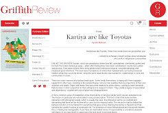 Kartiya are like Toyotas
